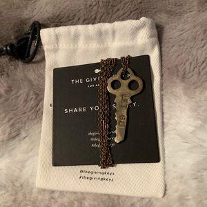 Giving Keys Let Go Necklace